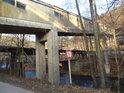 Produktový most přes Divokou Orlici v obci Litice nad Orlicí.